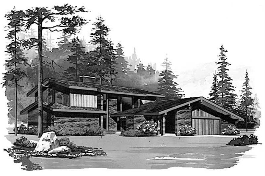 Main image for house plan # 17669