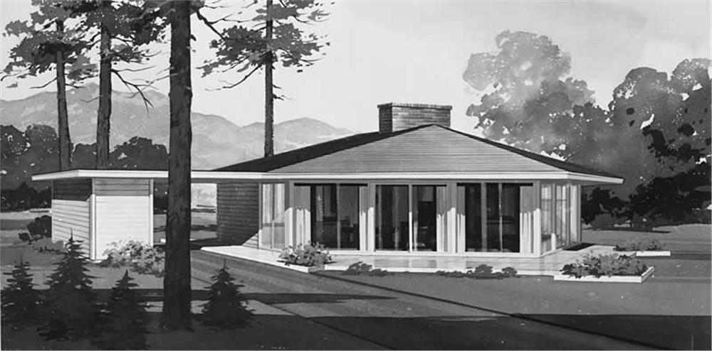 Main image for house plan # 17283