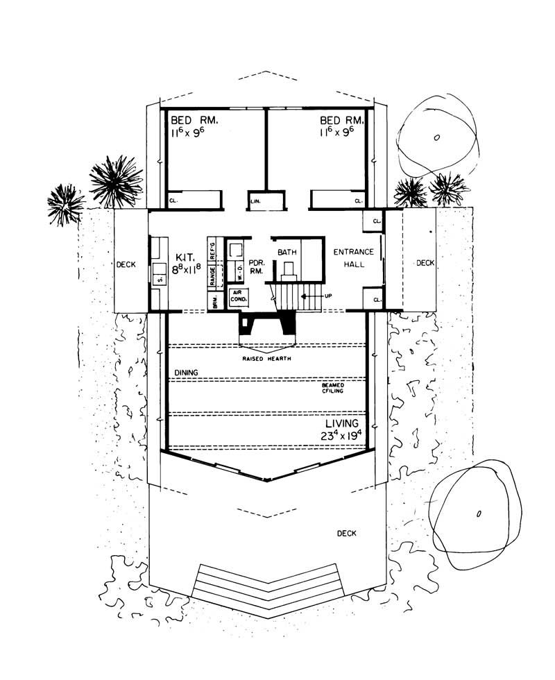 A Frame House Plans Home Design Hw 2431 17446