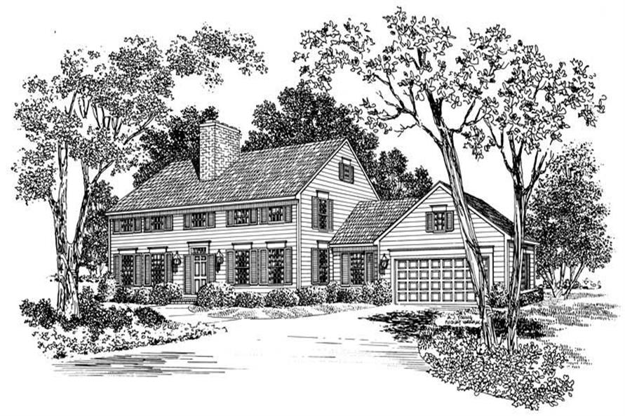 Main image for house plan # 17526