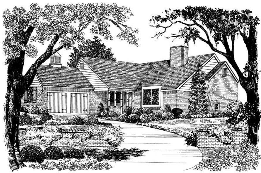Main image for house plan # 17432
