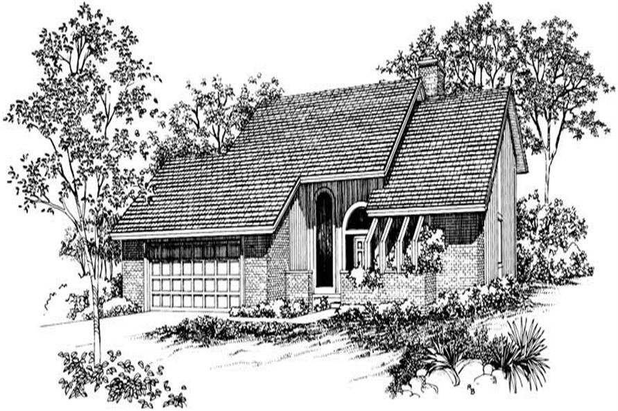 Main image for house plan # 17455