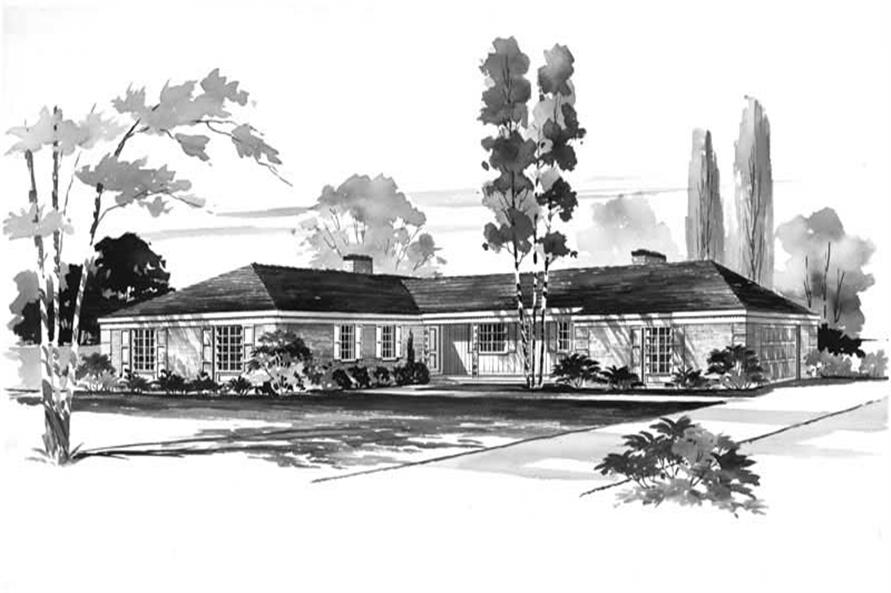 Main image for house plan # 17252