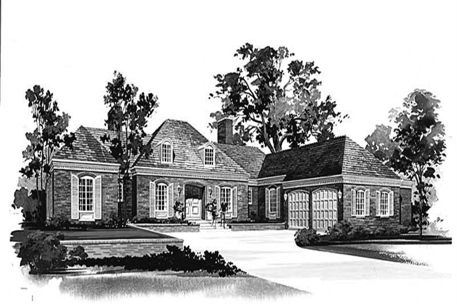 Main image for house plan # 17136