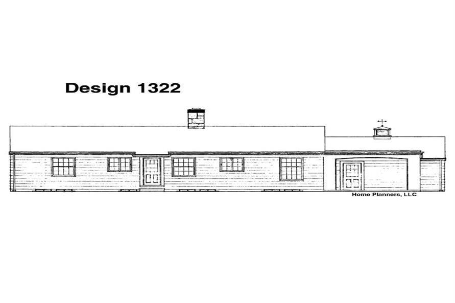 House Plan #137-1811