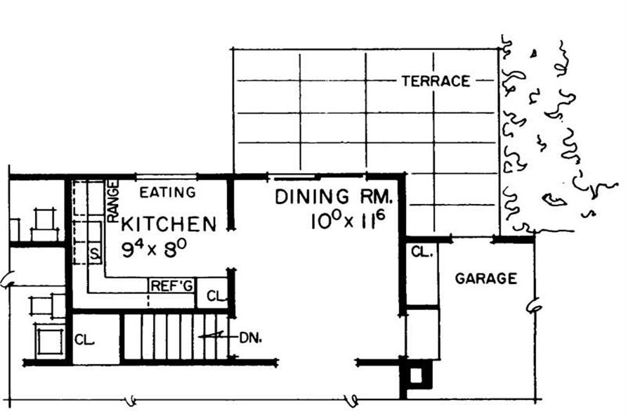 Home Plan Other Image of this 3-Bedroom,1050 Sq Ft Plan -137-1814