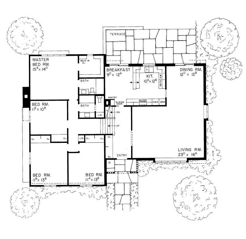 Small european house plans home design hw 2137 17395 for Small european house plans