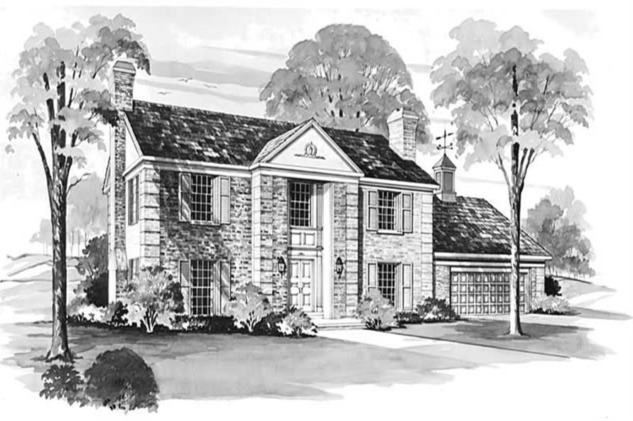 Main image for house plan # 17418
