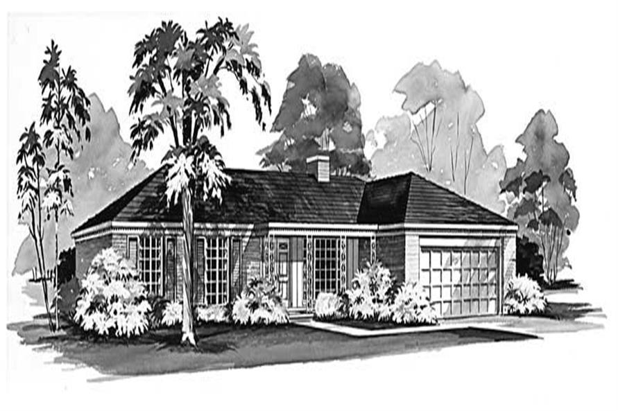 Main image for house plan # 17269