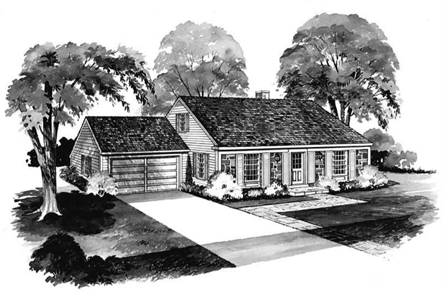 Main image for house plan # 17260