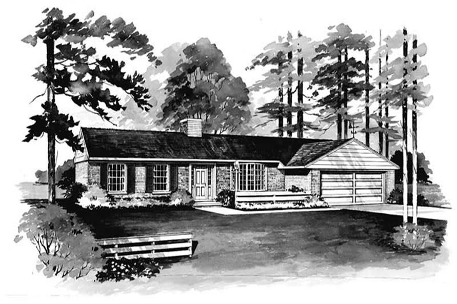 Main image for house plan # 17261
