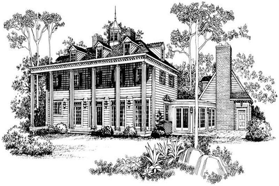 House Plan #137-1835