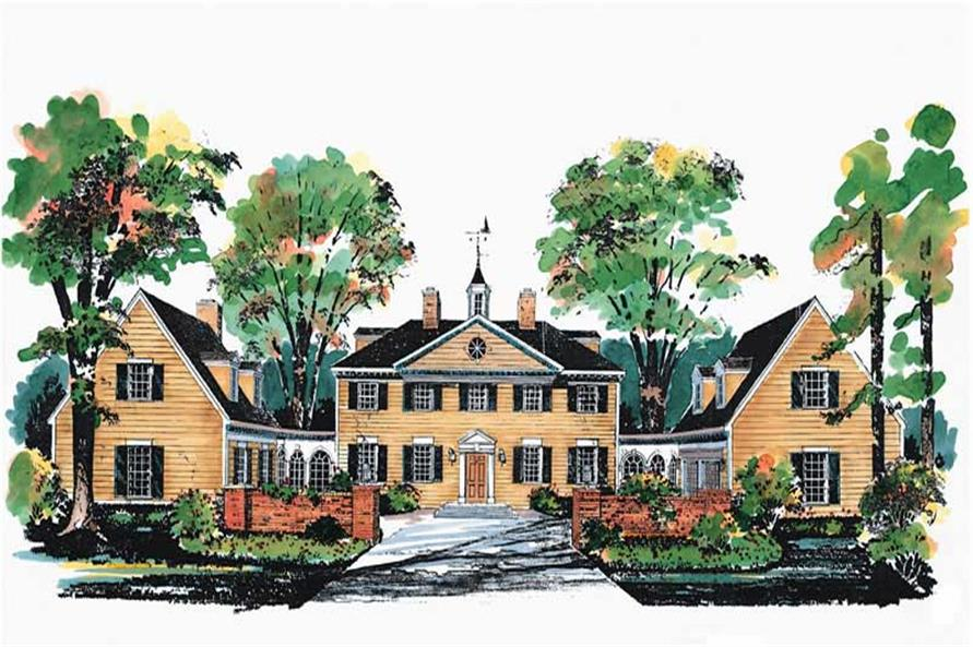 Main image for house plan # 17587