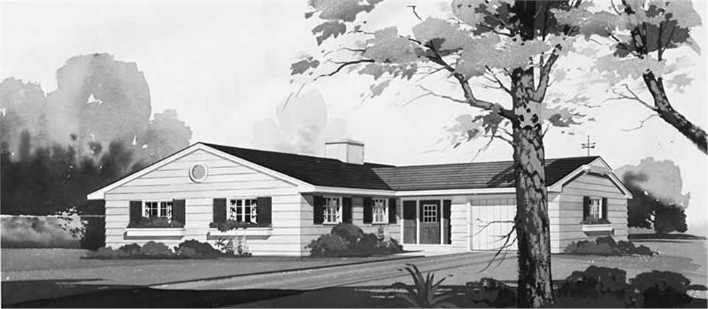 Main image for house plan # 17264