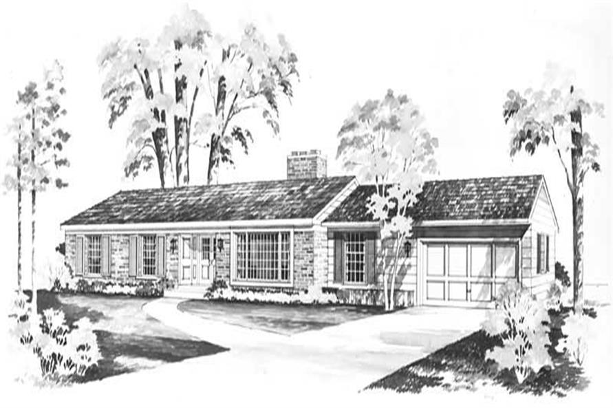 Main image for house plan # 17251