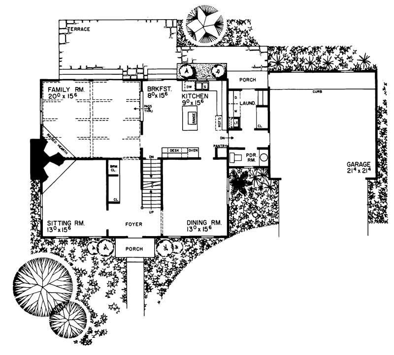 Colonial Cape Cod House Plans Home Design Hw 2644 17524