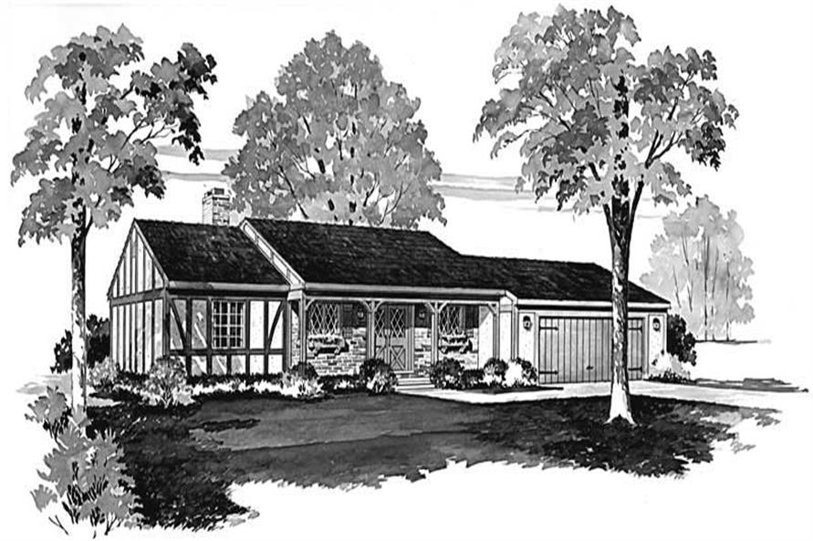 Main image for house plan # 17480