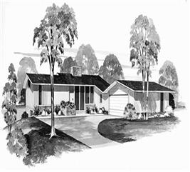House Plan #137-1849