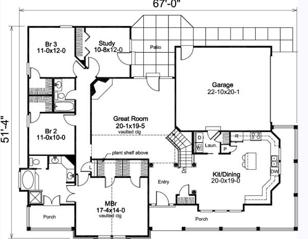 Country charm house plan house plan 138 1002 Southern charm house plans