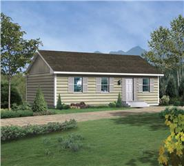 House Plan #138-1017