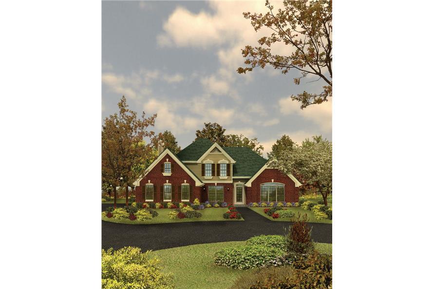 138-1032: Home Plan Rendering