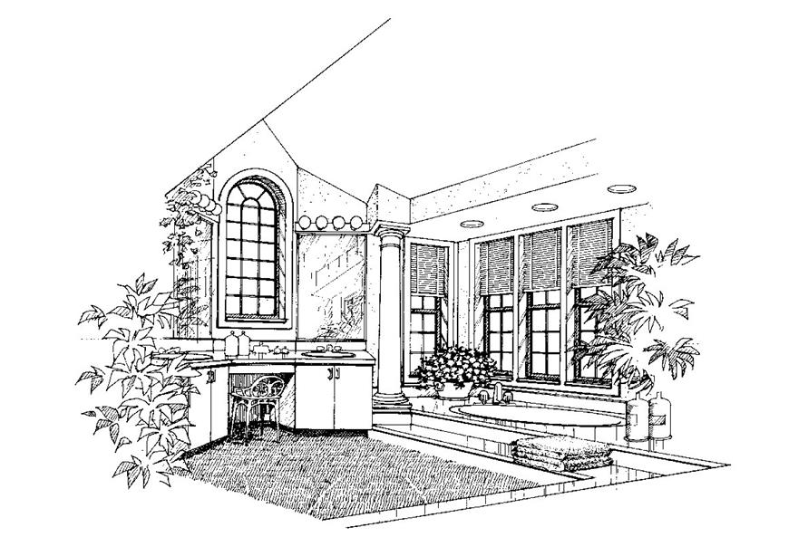 138-1037: Home Plan Rendering