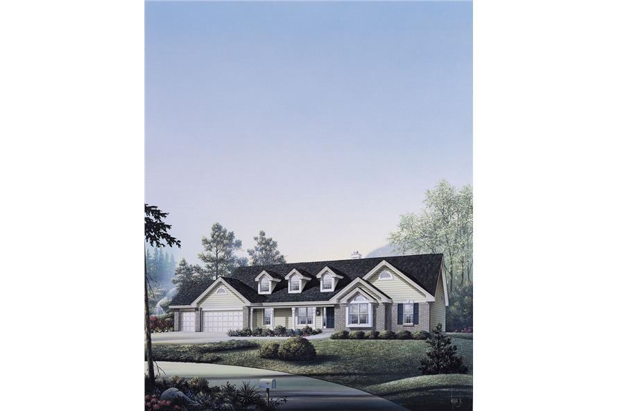 138-1041: Home Plan Rendering