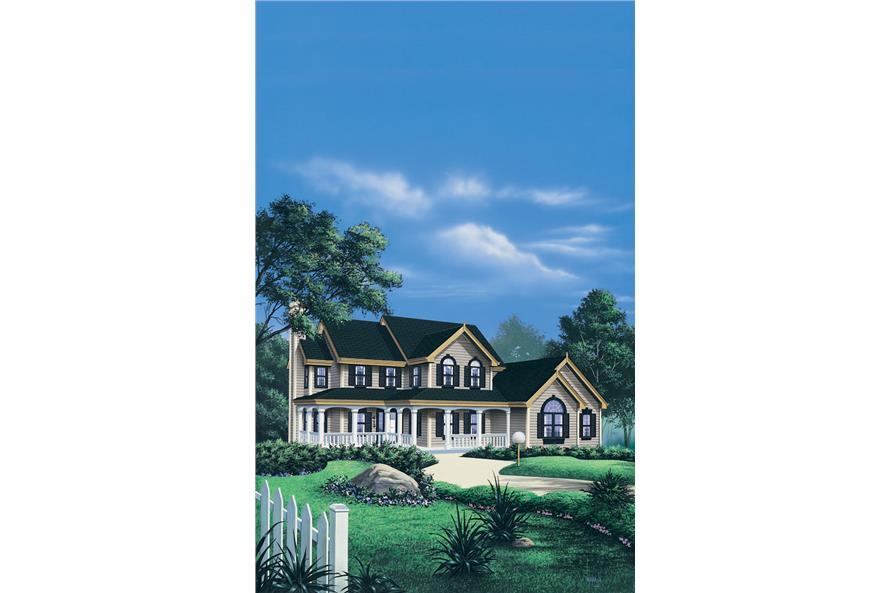 138-1042: Home Plan Rendering