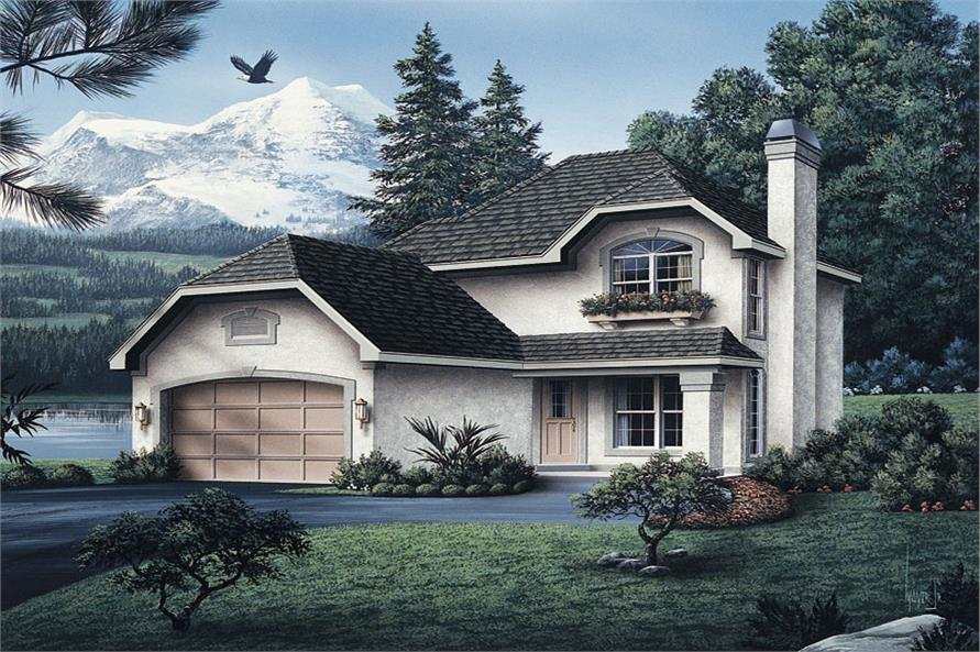 Cottage house plan 138 1044 3 bedrm 1492 sq ft home for Theplancollection com modern house plans