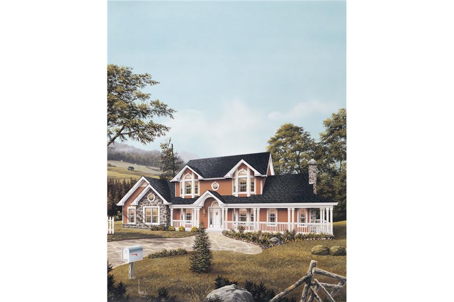138-1046: Home Plan Rendering