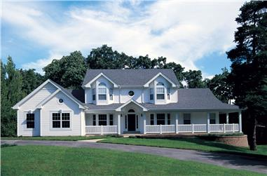 5-Bedroom, 2828 Sq Ft Southern Home Plan - 138-1046 - Main Exterior