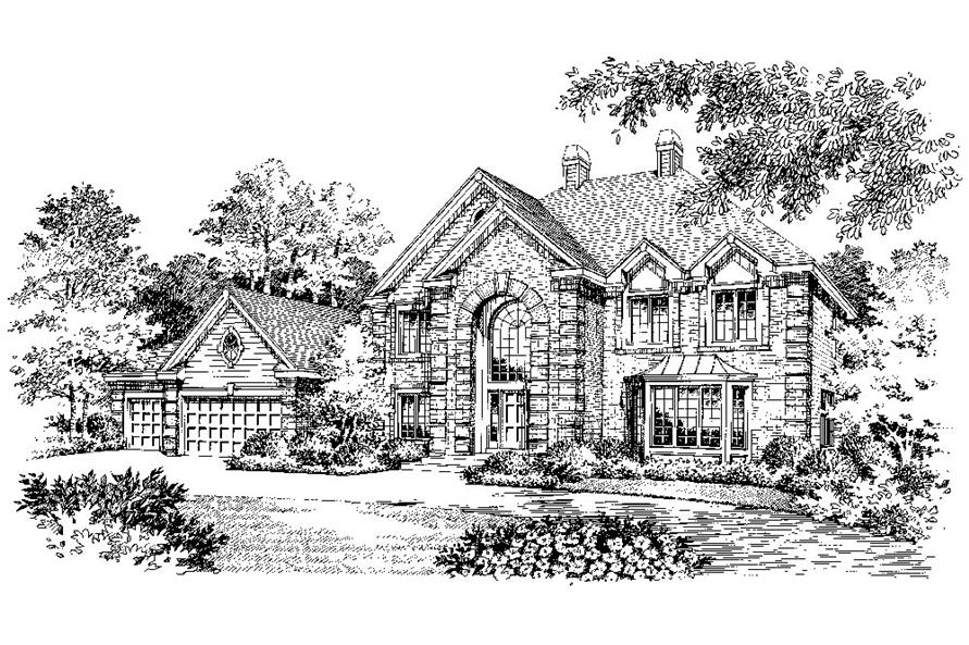 138-1047: Home Plan Rendering