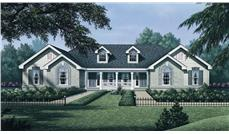 Front elevation of Multi-Unit home (ThePlanCollection: House Plan #138-1050)