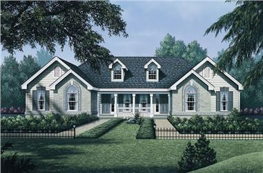 4-Bedroom, 1700 Sq Ft Multi-Unit Home Plan - 138-1050 - Main Exterior