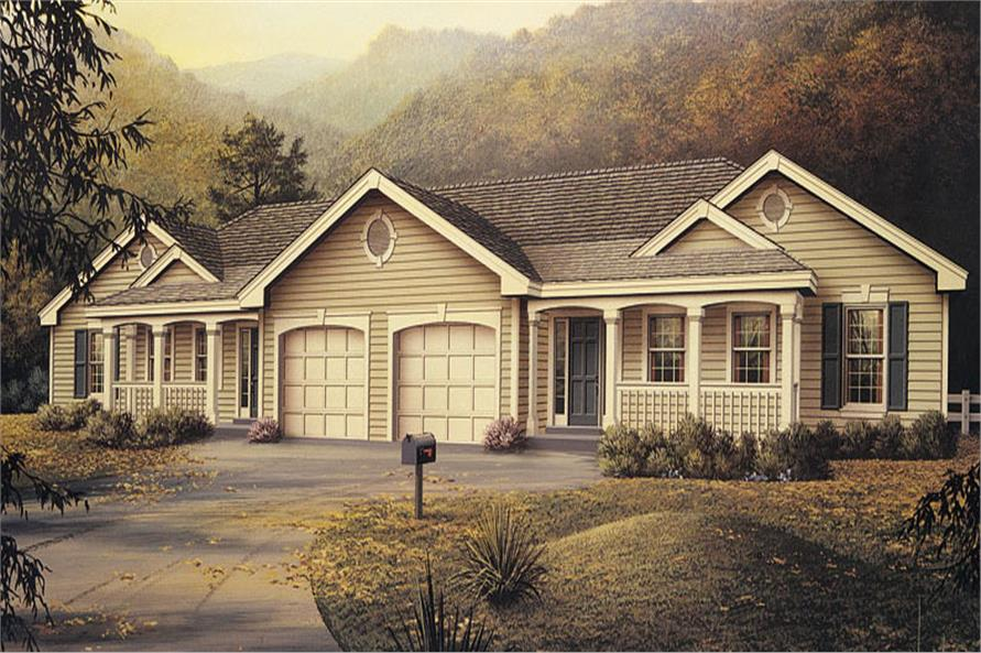 Multi unit house plan 138 1051 6 bedrm 2318 sq ft per for Multi unit home plans