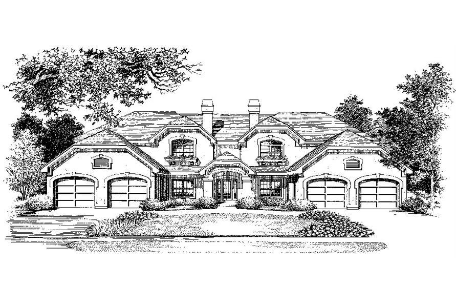 138-1053: Home Plan Rendering