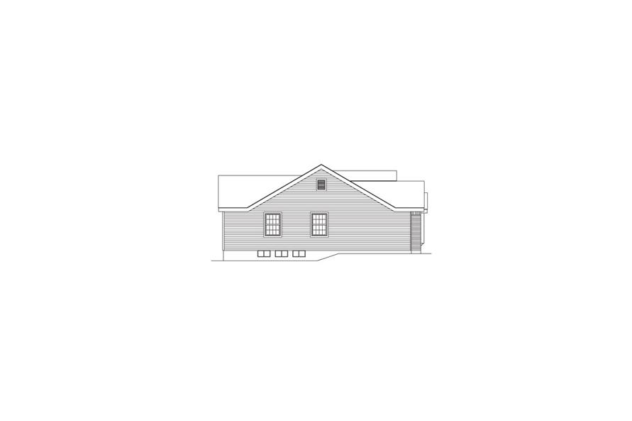 138-1062: Home Plan Left Elevation