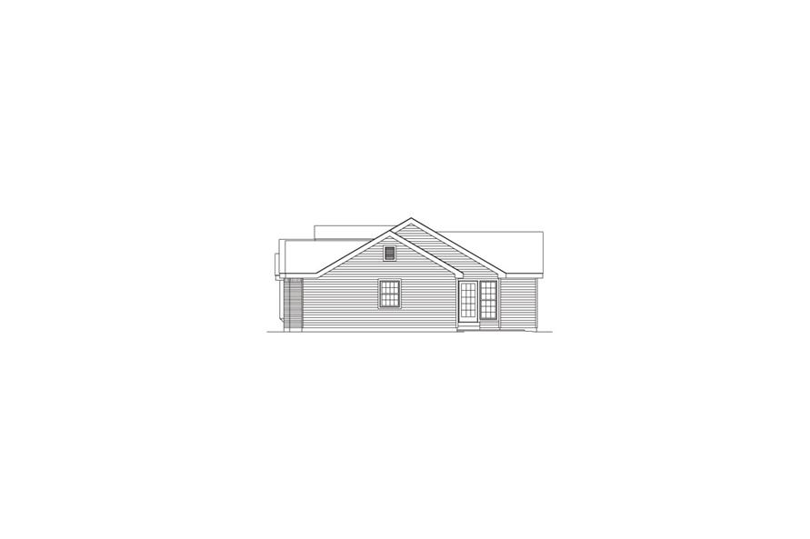 138-1062: Home Plan Right Elevation