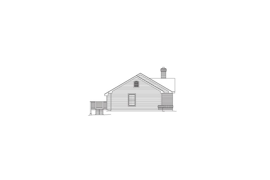 138-1068: Home Plan Left Elevation