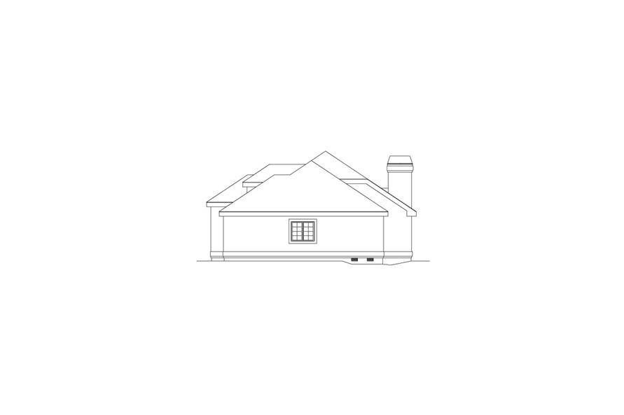 138-1076: Home Plan Right Elevation