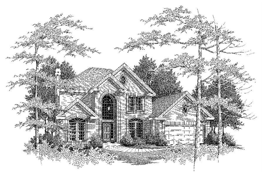 138-1081: Home Plan Rendering