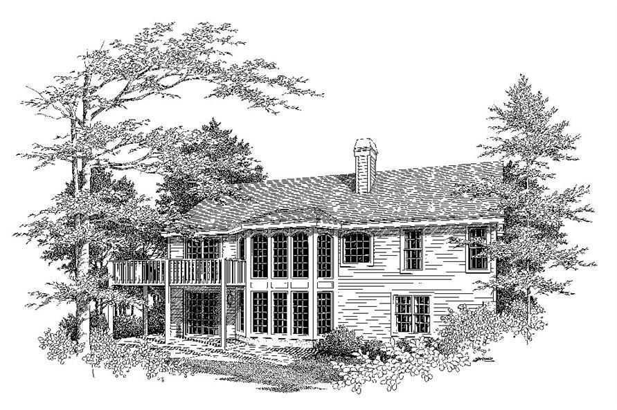 138-1083: Home Plan Rendering
