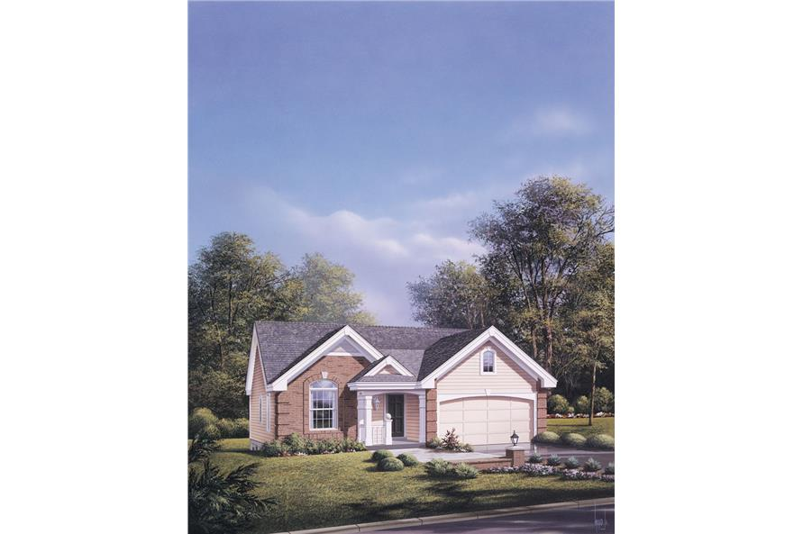 138-1090: Home Plan Rendering