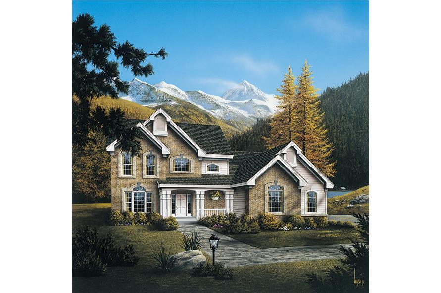 138-1094: Home Plan Rendering