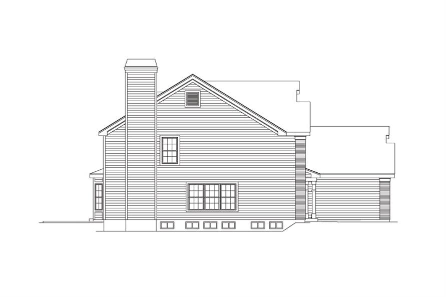 138-1094: Home Plan Left Elevation