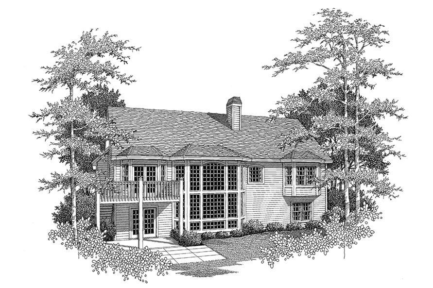 138-1096: Home Plan Rendering