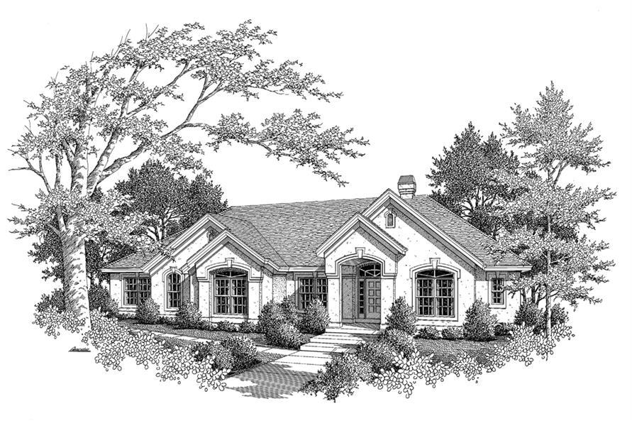 138-1097: Home Plan Rendering