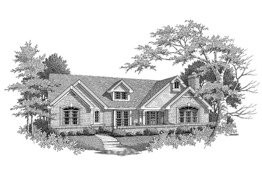 138-1099: Home Plan Rendering