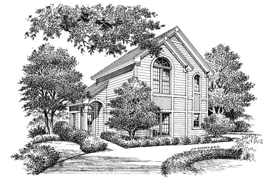 138-1103: Home Plan Rendering