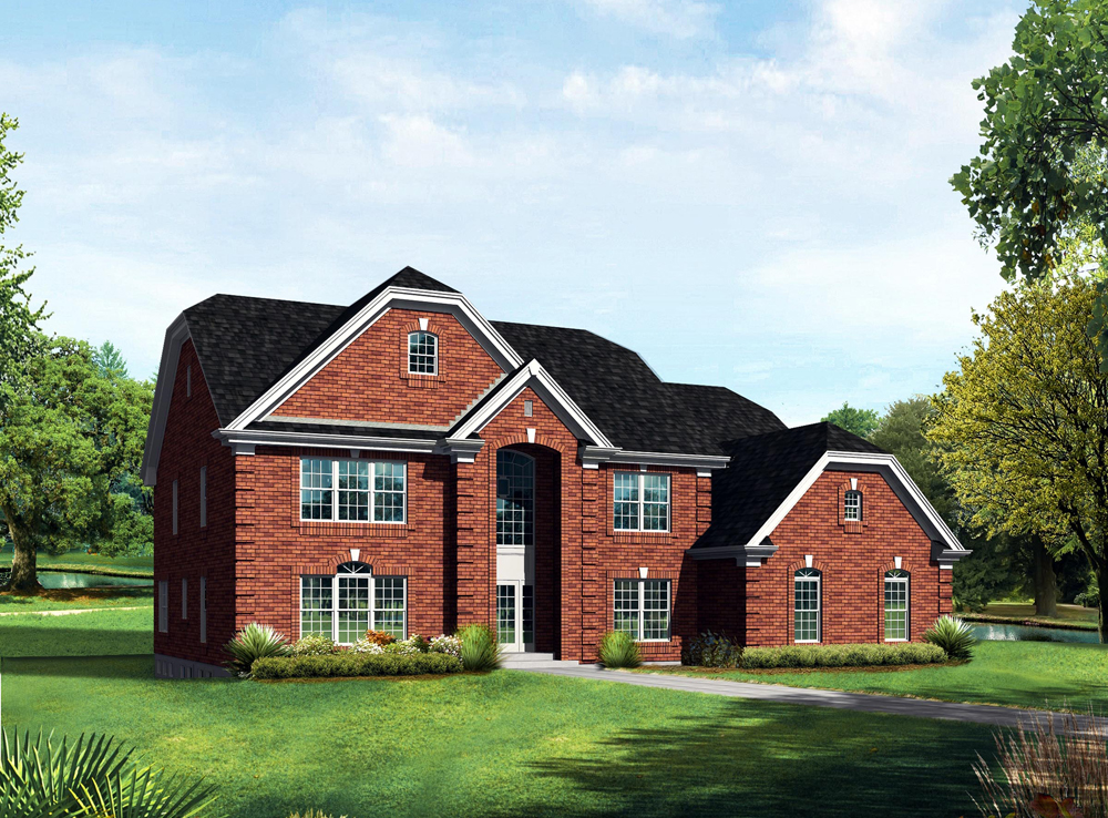 Farmhouse house plan 138 1104 6 bedrm 4269 sq ft home for Farmhouse colonial house plans